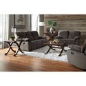 Standard Furniture 418 Reclining Sofa with Pillow Arms