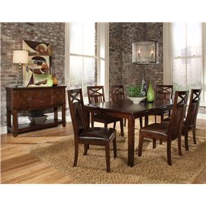 Standard Furniture Sonoma 8-Piece Dining Set