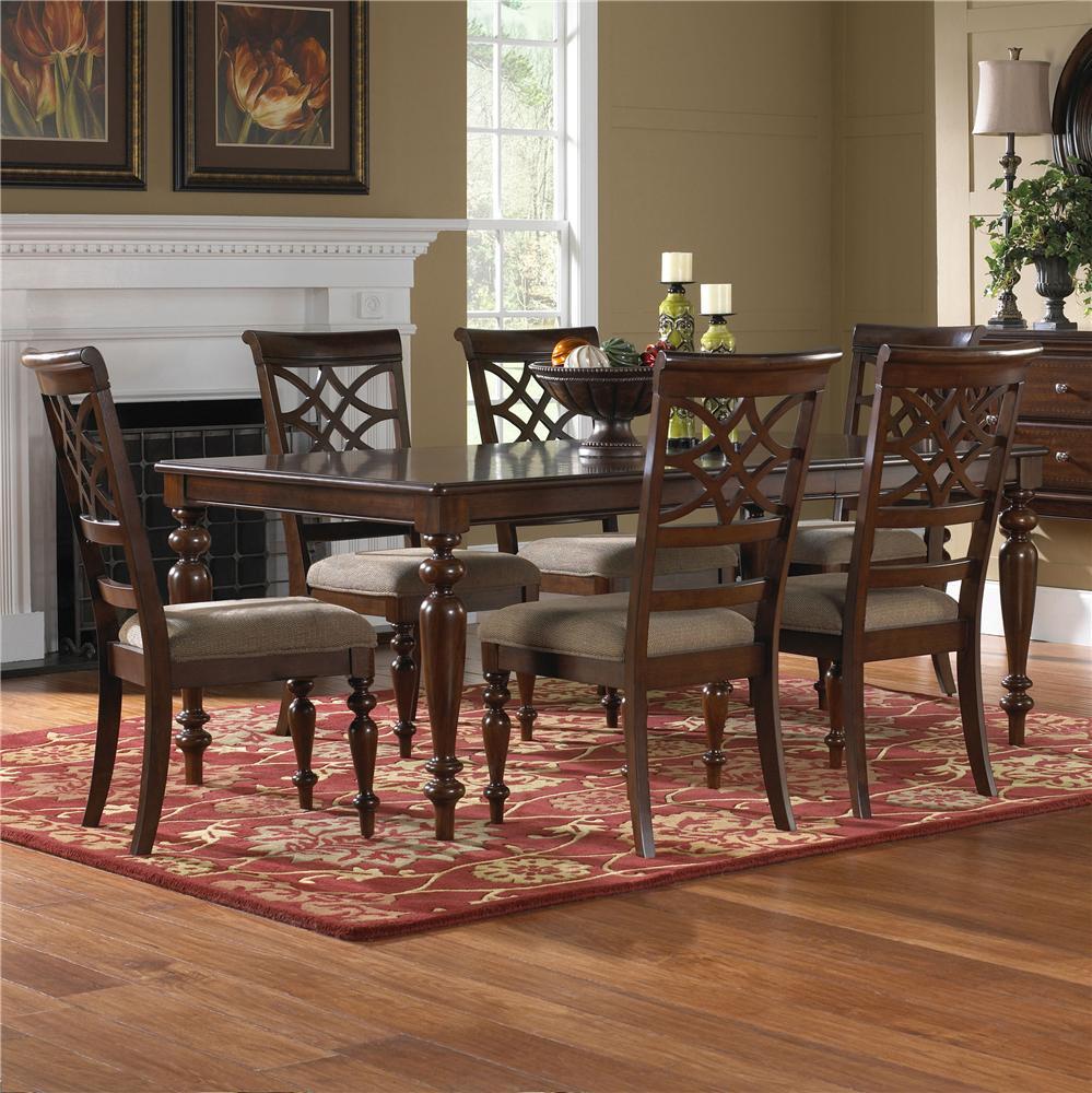 Standard Furniture Woodmont 7-Piece Dining Set - Item Number: 19181+184X6