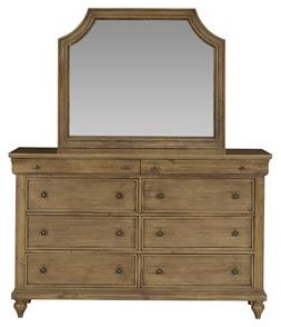 Standard Furniture Brussels Dresser & Mirror