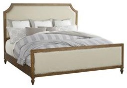 Standard Furniture Brussels King Upholstered Panel Bed