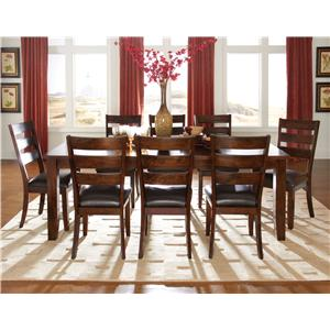 Standard Furniture Abaco 9 Piece Table & Chair Set