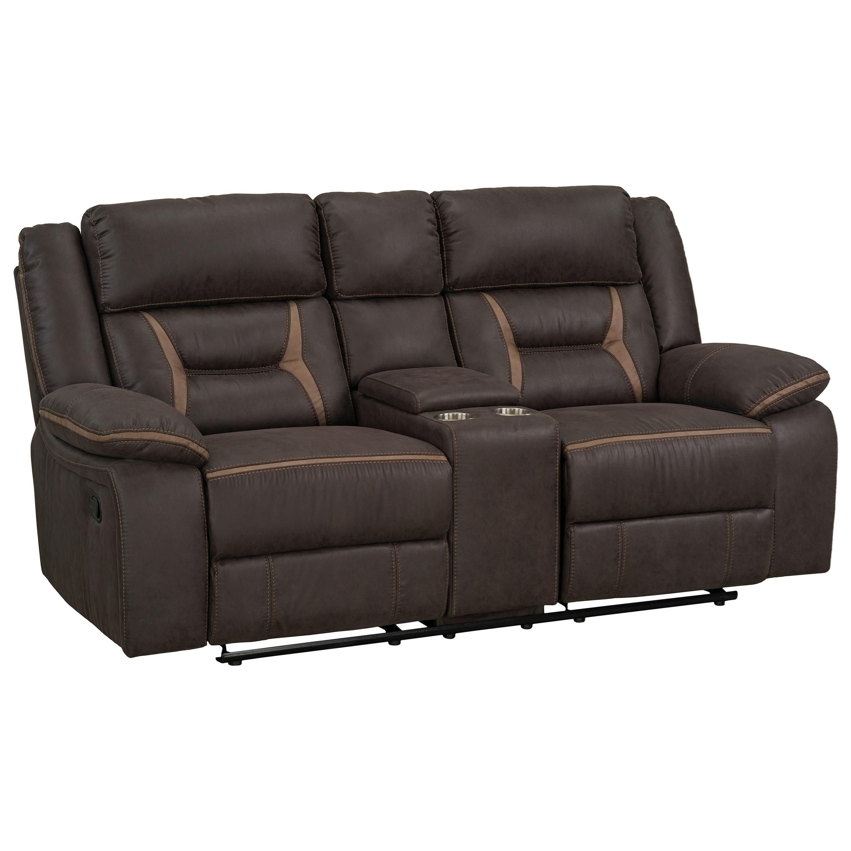 Acropolis Power Glider Reclining Loveseat by Standard Furniture at Beds N Stuff