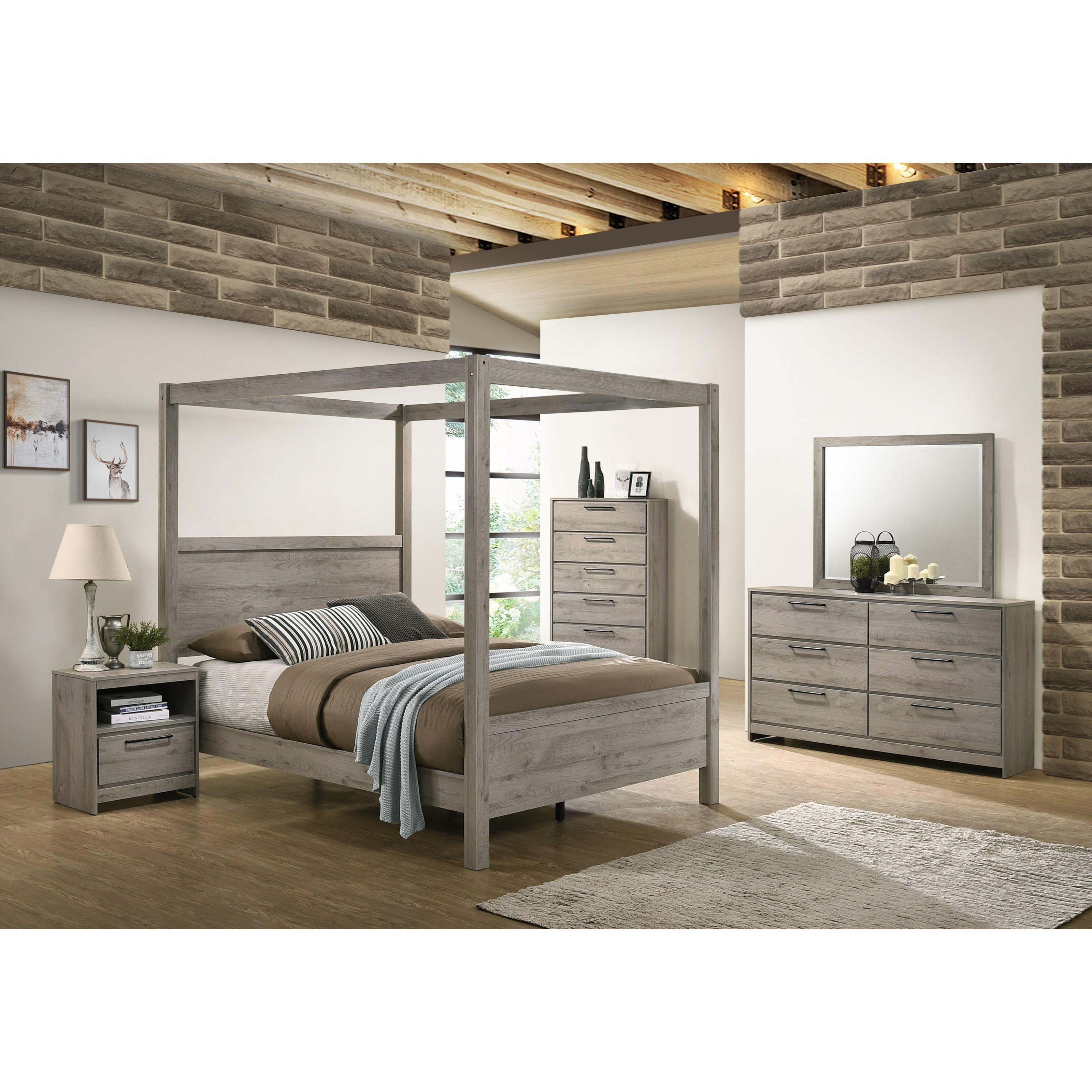 Alix Full Bedroom Group by Standard Furniture at Beds N Stuff