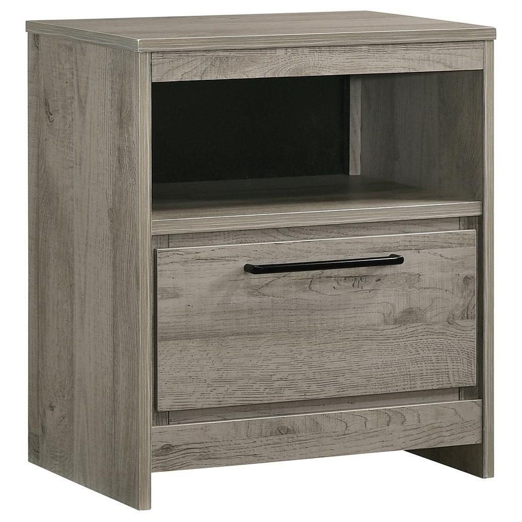 Alix Nightstand W/Usb by Standard Furniture at Beds N Stuff