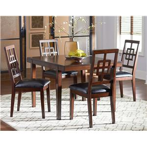 Standard Furniture Ally 5 Piece Dining Table Set