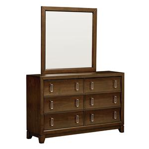 Standard Furniture Amanoi Dresser and Mirror Set