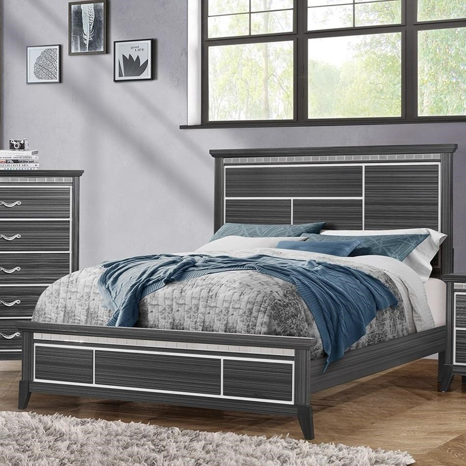 Anaheim King Panel Bed by Standard Furniture at Beds N Stuff