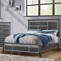 Standard Furniture Anaheim King Panel Bed - Item Number: 86161+52+63