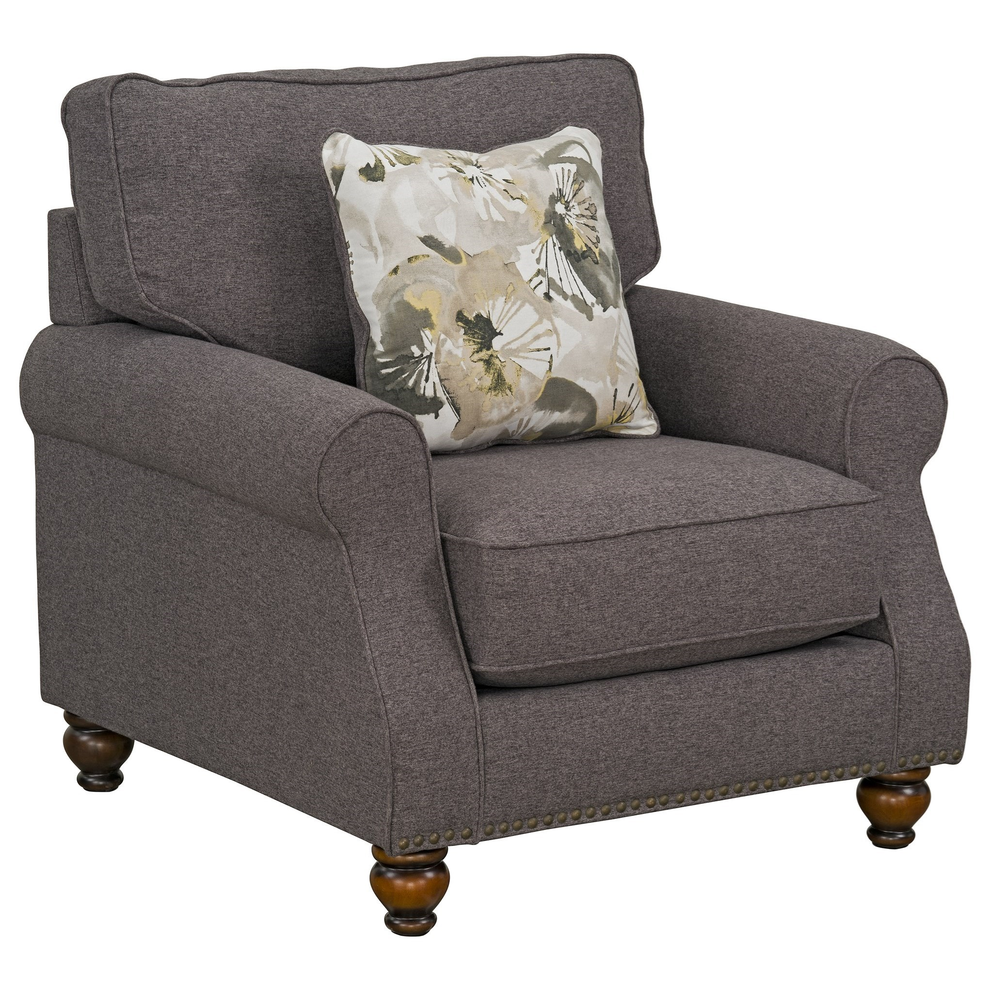 Angelina Upholstered Chair by Standard Furniture at Beds N Stuff