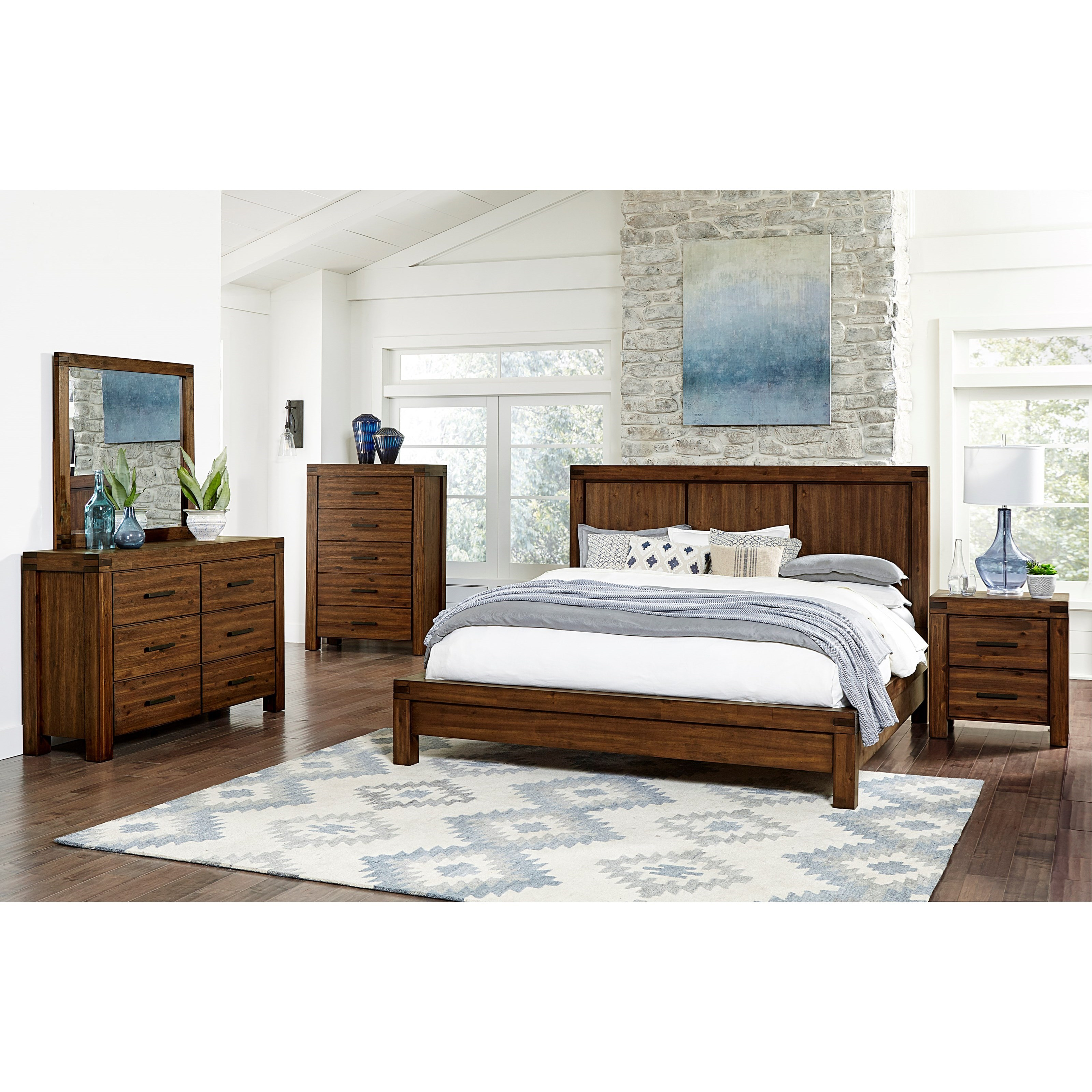 Arbor California King Bedroom Group by Standard Furniture at Beds N Stuff
