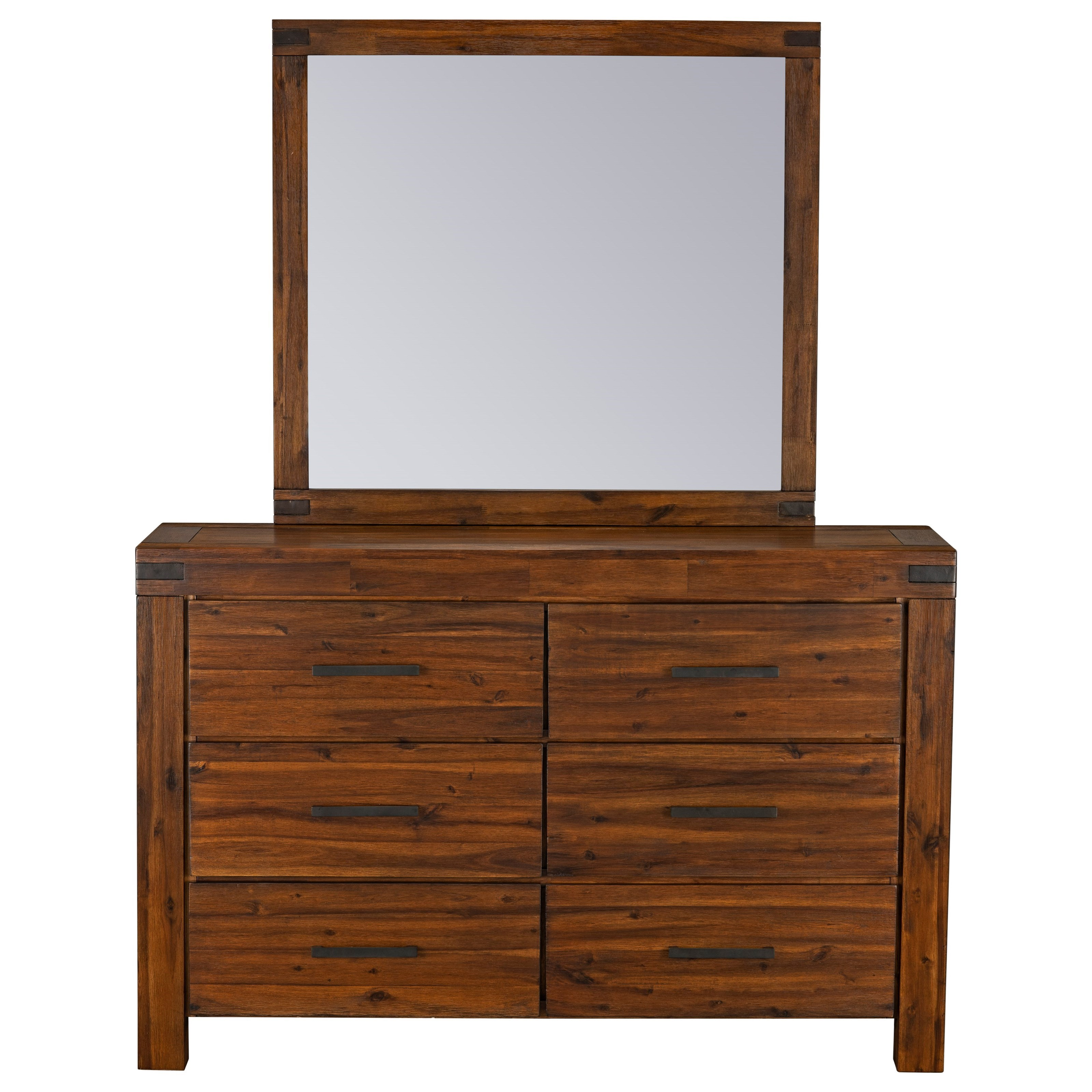Arbor Dresser and Mirror Set by Standard Furniture at Beds N Stuff