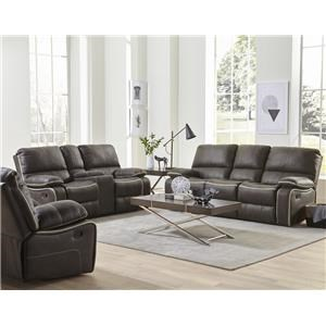3 Pc Reclining Group