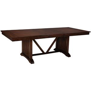 Standard Furniture Artisan Loft Trestle Dining Table
