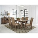 Standard Furniture Aspen Formal Dining Group - Item Number: 14880 Dining Group 1