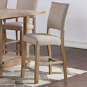 Standard Furniture Aubrun Honey Counter Height Dining Chair 2-Pack - Item Number: 11634