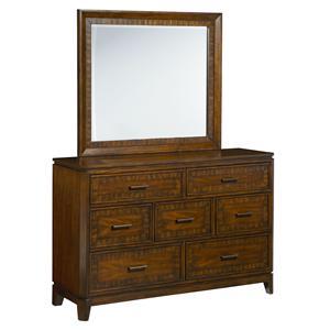 Standard Furniture Avion  Dresser with Mirror