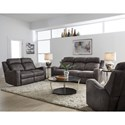 Standard Furniture Bankston Reclining Living Room Group - Item Number: 414800 Living Room Group 1