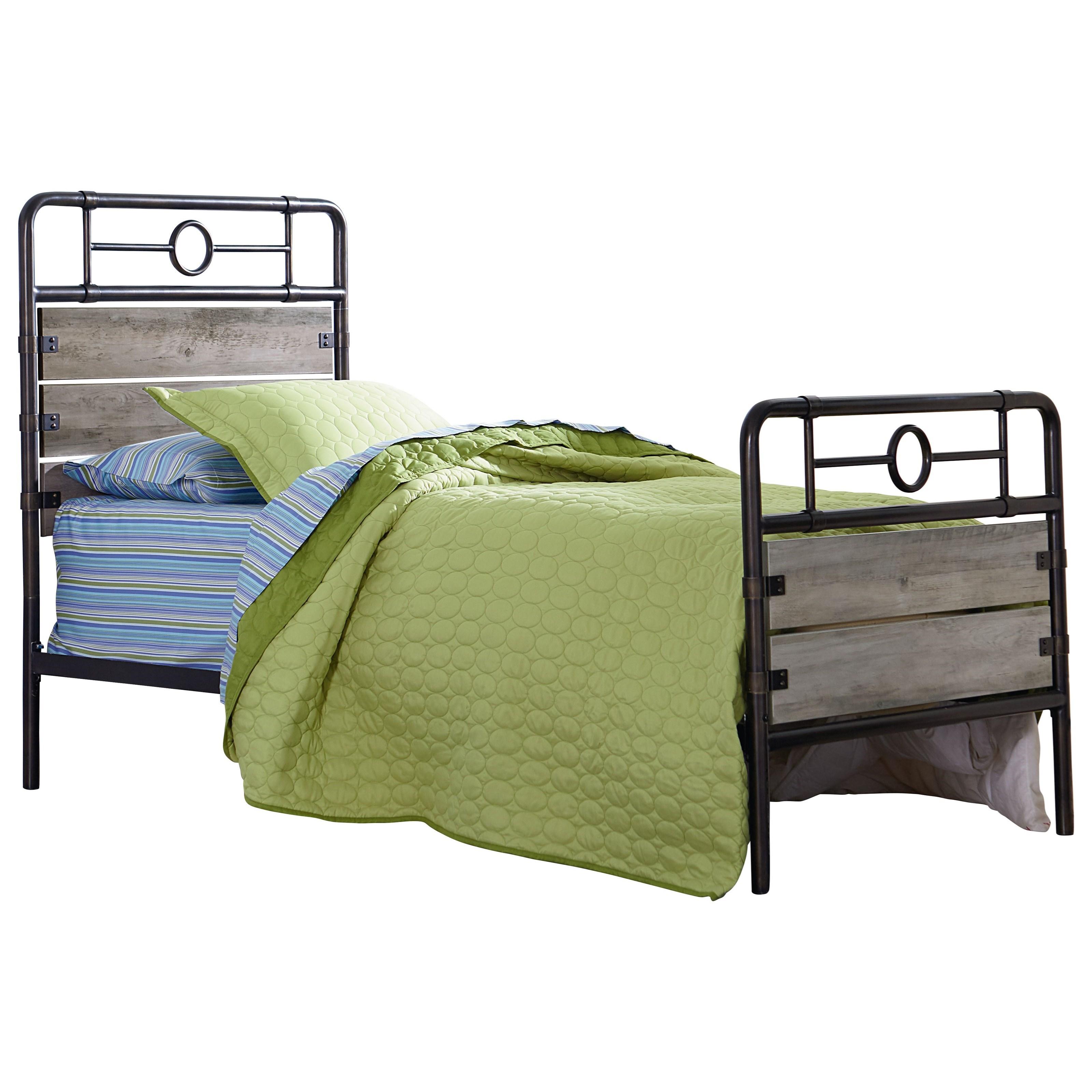Standard Furniture Barnett Twin Bed - Item Number: 62403+62410