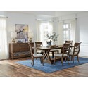 Standard Furniture Beckman Brown Formal Dining Group - Item Number: 14640 Dining Group 1