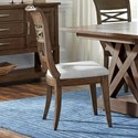 Standard Furniture Beckman Brown Dining Side Chair 2-Pack - Item Number: 14644
