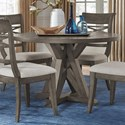 Standard Furniture Beckman Grey Round Dining Table - Item Number: 15641