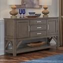 Standard Furniture Beckman Grey Server - Item Number: 15648