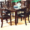 Standard Furniture Bella Rectangular Dining Table with Faux Marble Top