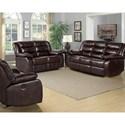 Standard Furniture Bennet Reclining Living Room Group - Item Number: 422100 Living Room Group 1