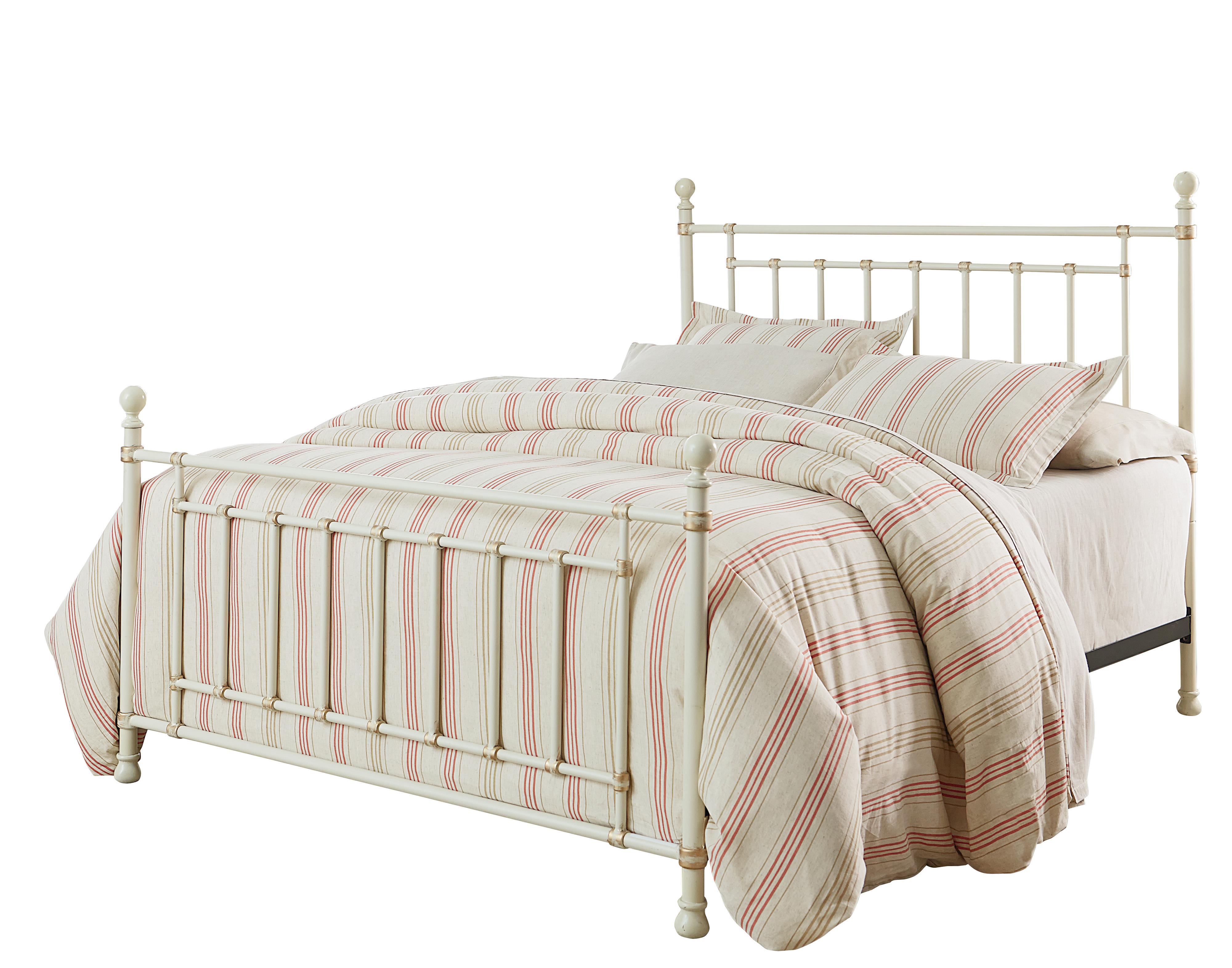 Standard Furniture Bennington White Full Bed - Item Number: 81861+62