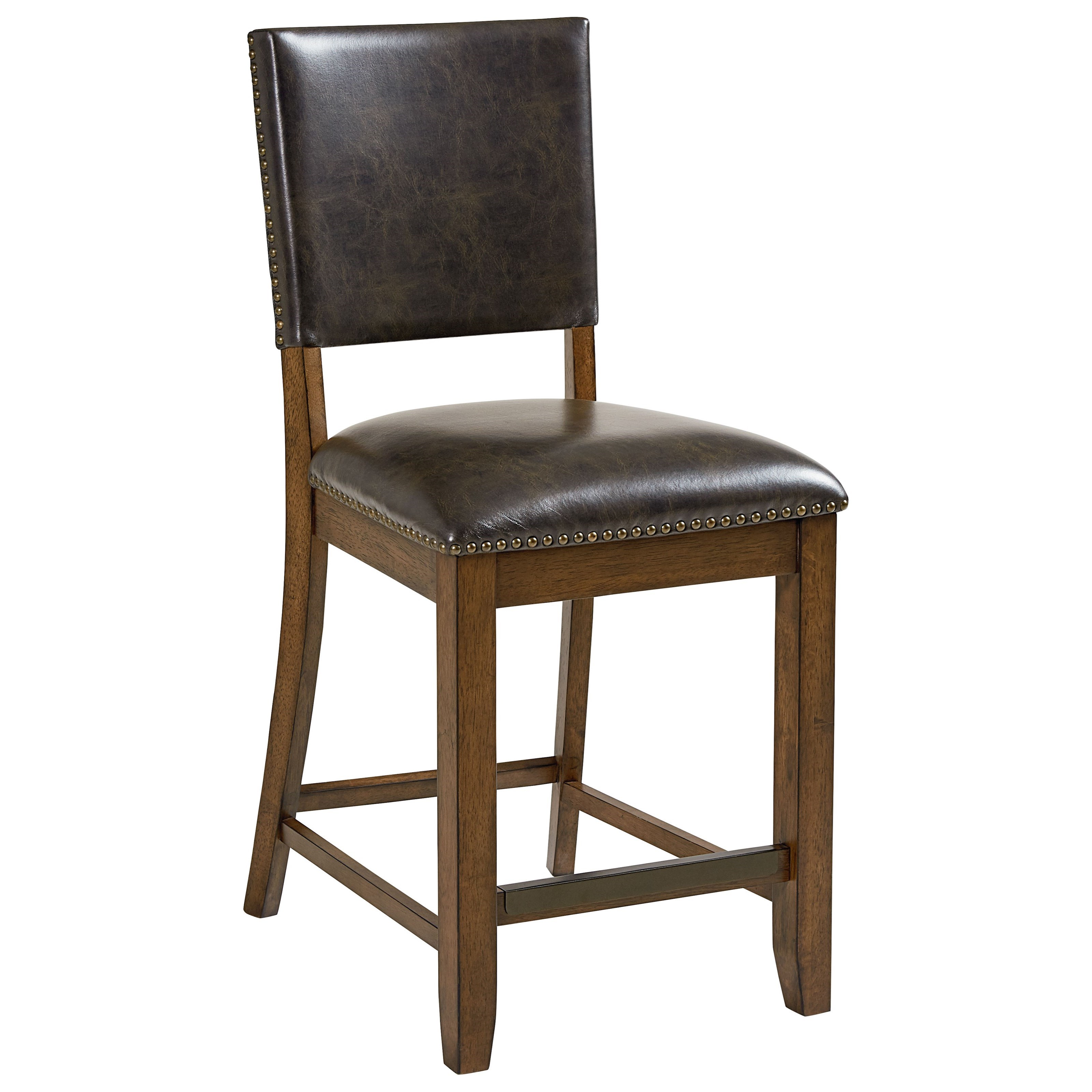Standard Furniture Benson Counter Height Rustic Table And Chair Set Dunk amp Bright
