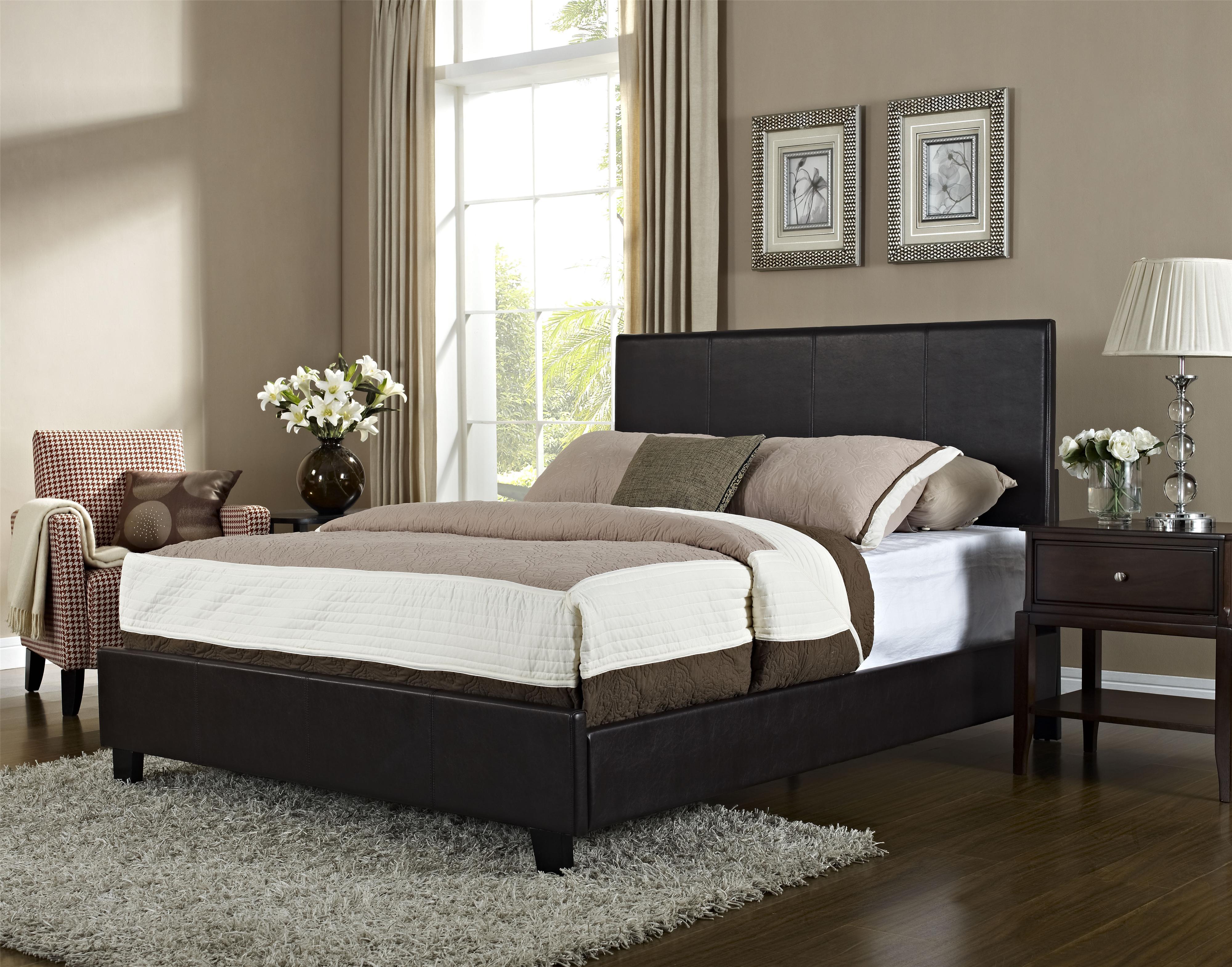 Youth Kids Bedroom Batman Dark Knight Twin Size Platform: Standard Furniture Bolton King Upholstered Platform Bed