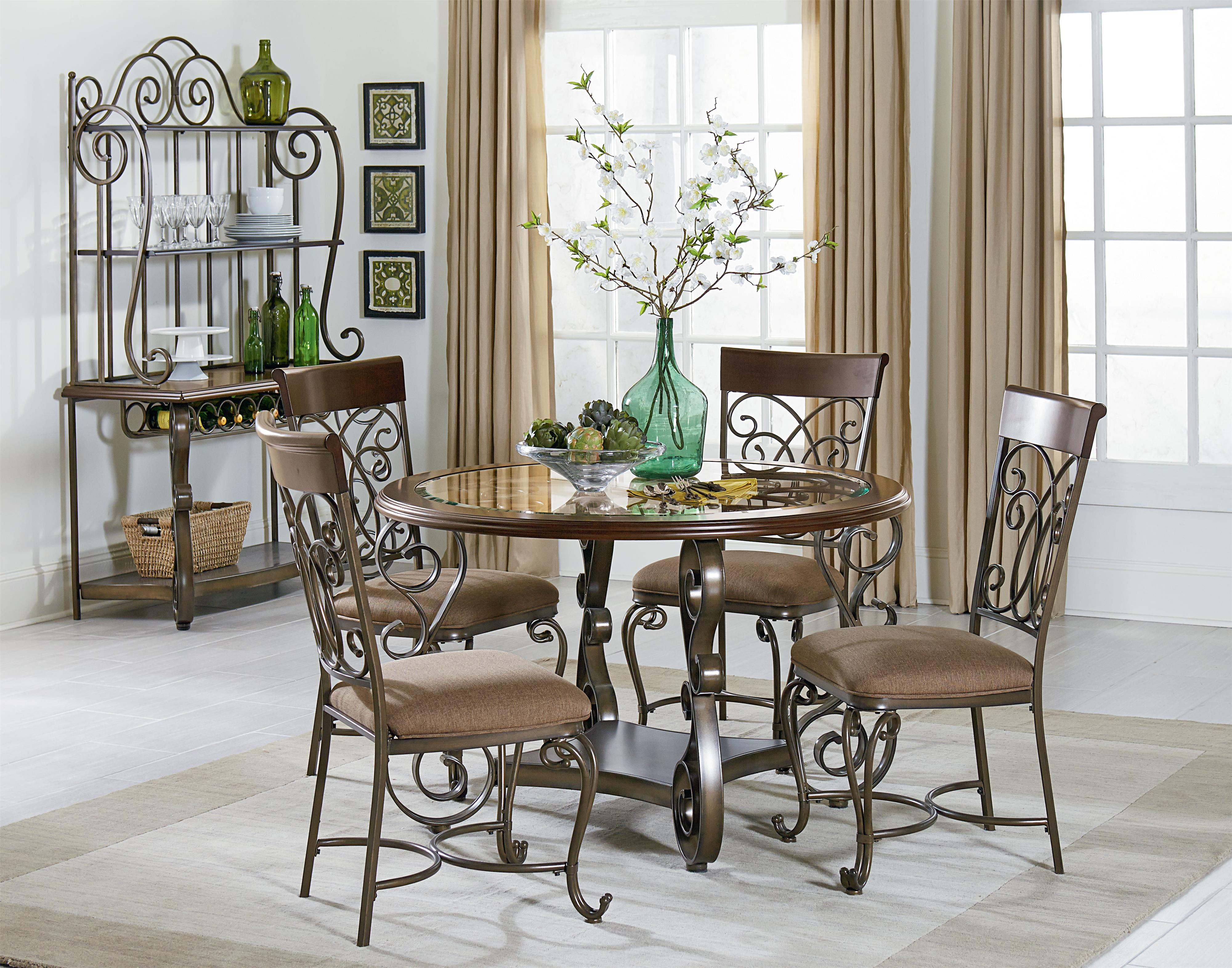 Standard furniture bombay casual dining room group for Casual dining room