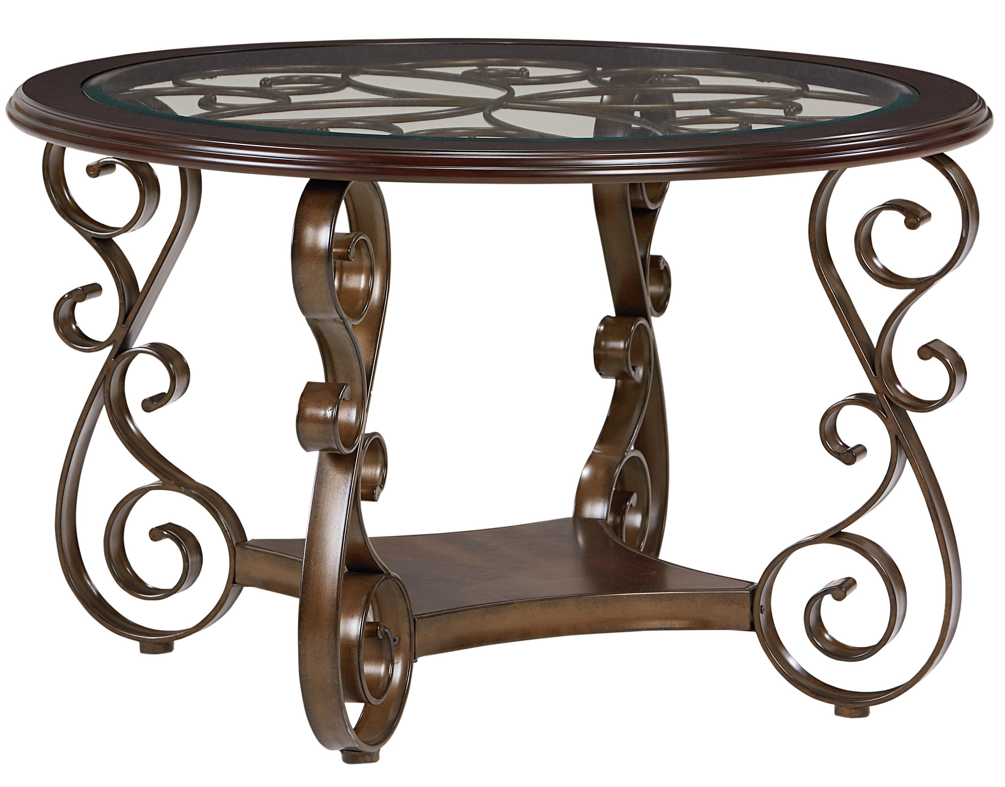 Standard Furniture Bombay Round Dining Table                 - Item Number: 13421