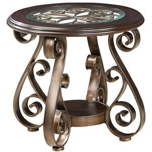 Standard Furniture Bombay Old World End Table