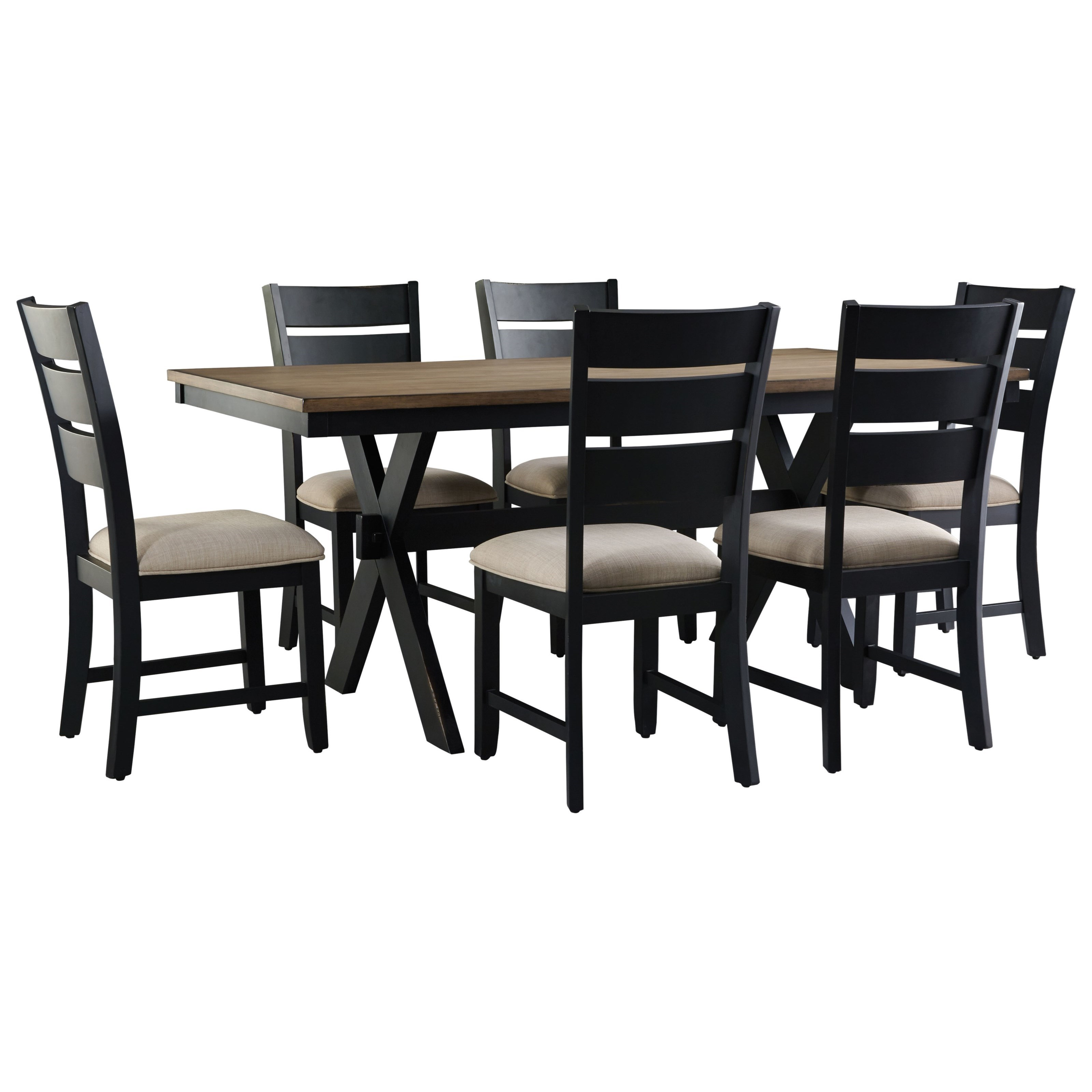 Standard Furniture Braydon Dining Table and Chair Set - Item Number: 12802