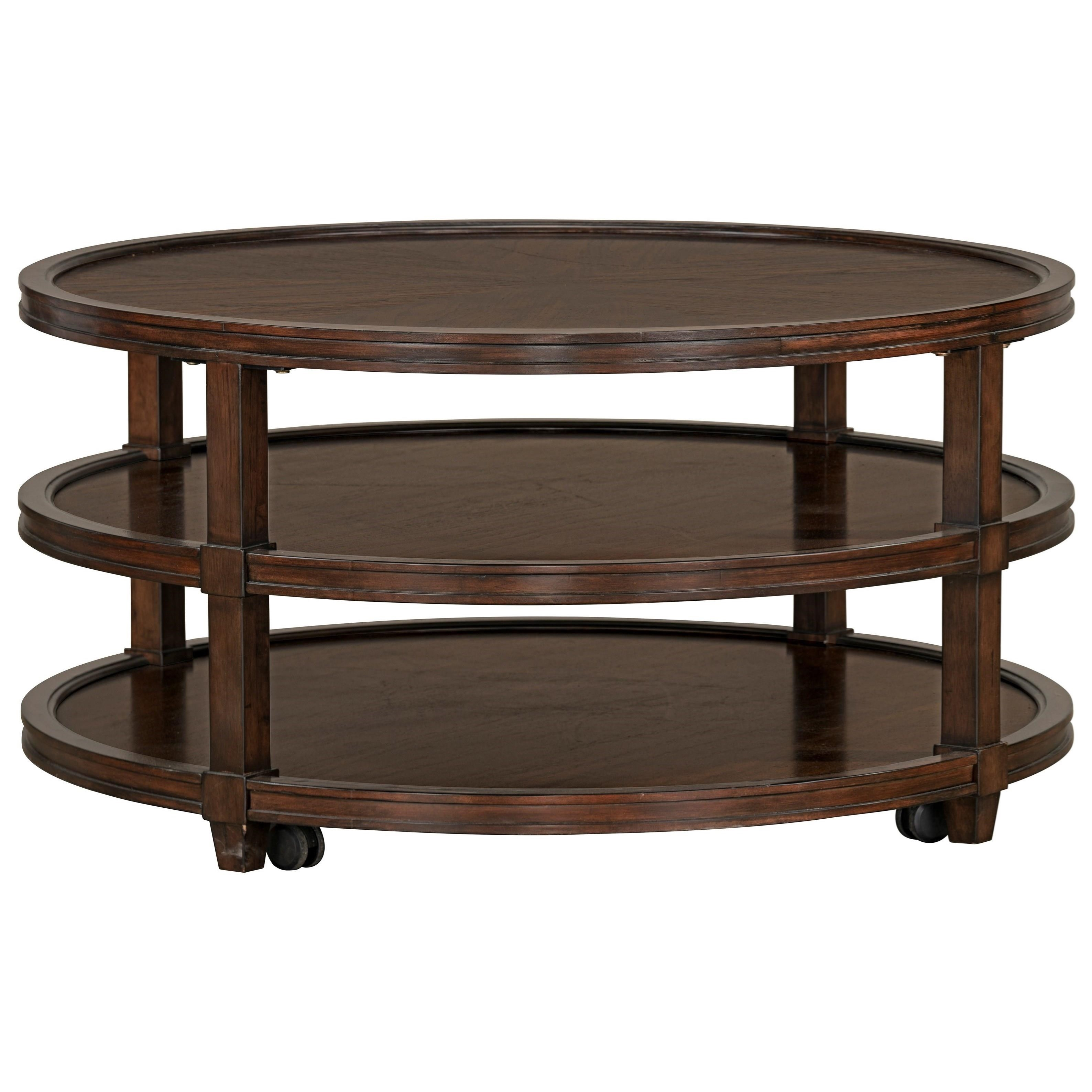 Cocktail Table W/Casters
