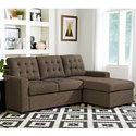 Standard Furniture Cadence Sectional Sleeper Sofa - Item Number: 4306263+4306853