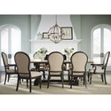 Standard Furniture Cambria Table and Chair Set - Item Number: 12281+3012281+6x12284+2x12285