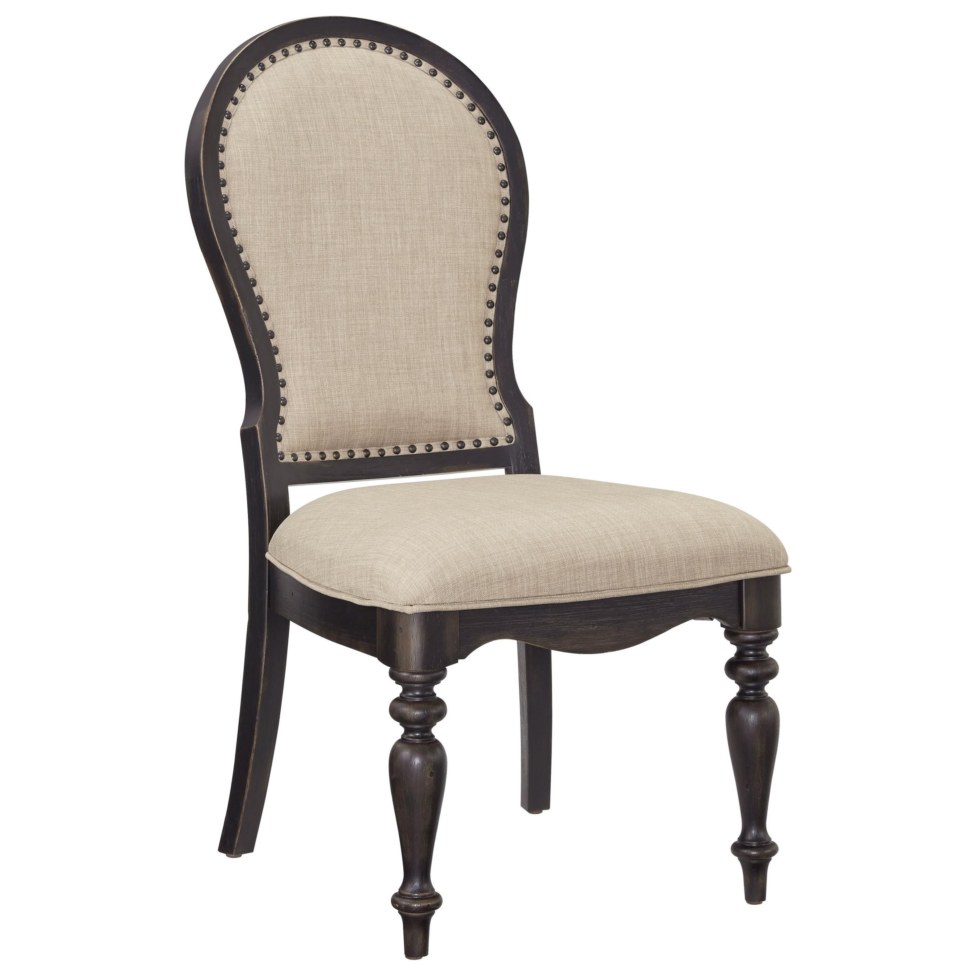 Standard Furniture Cambria Upholstered Side Chair - Item Number: 12284