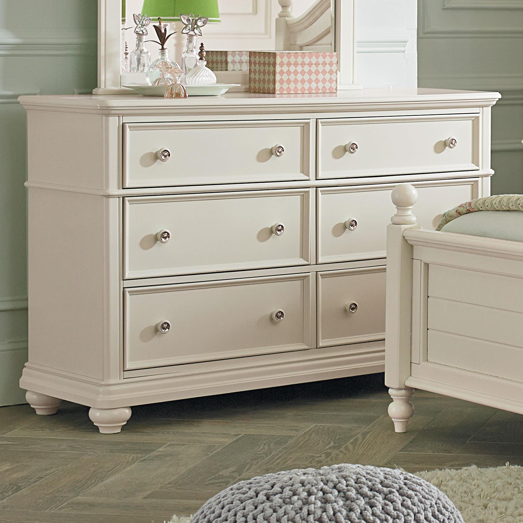 Standard Furniture Camellia Marshmallow Cottage Dresser                  - Item Number: 95209