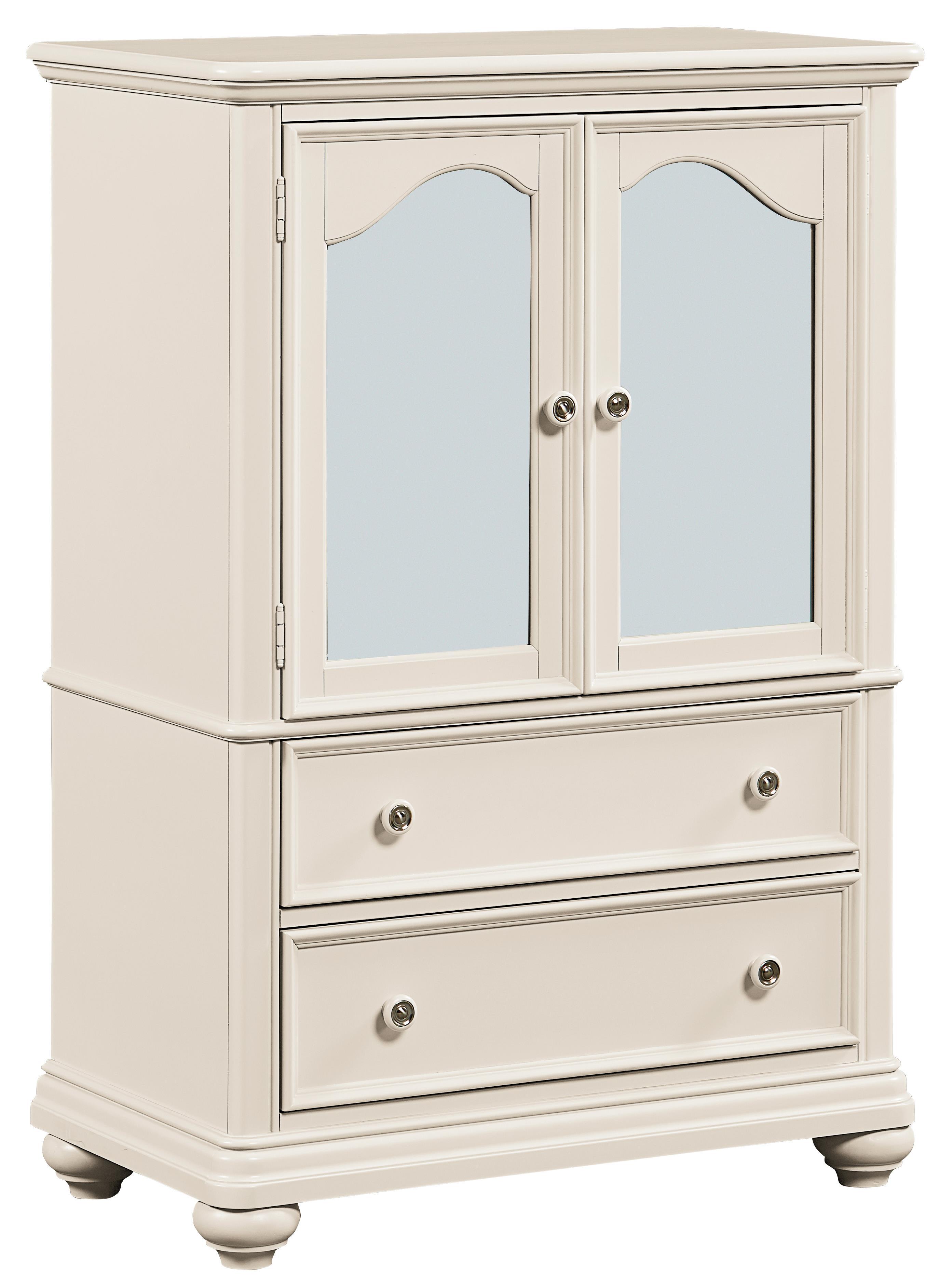 Standard Furniture Camellia Marshmallow Youth Wardrobe                - Item Number: 95210