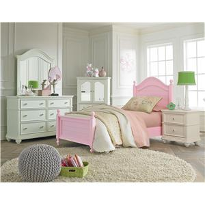 Standard Furniture Camellia Bubble Gum Full Bedroom Group