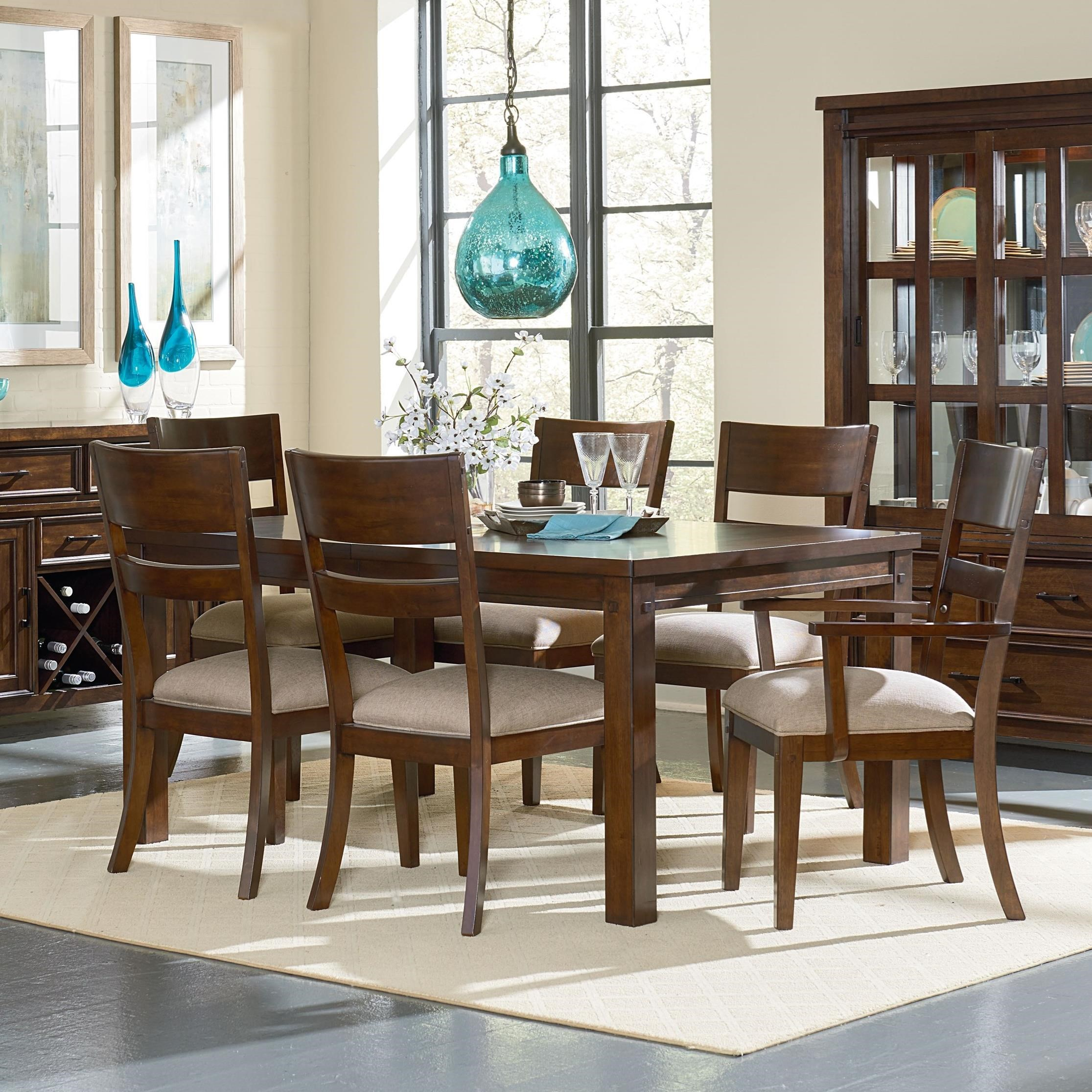 Standard Furniture Cameron Table and Chair Set - Item Number: 14301+14305+2x14304