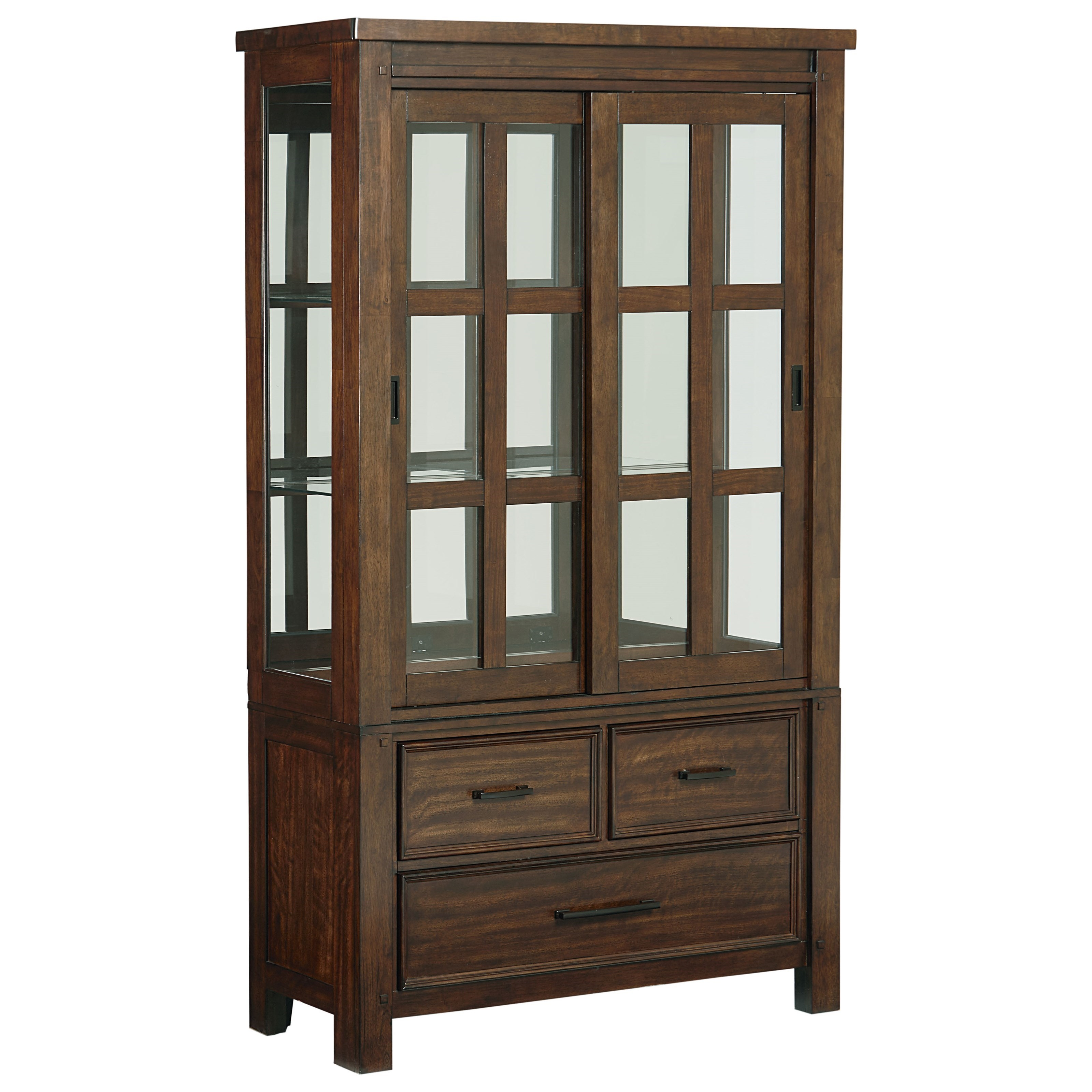 Standard Furniture Cameron Buffet and Hutch - Item Number: 14308+14309