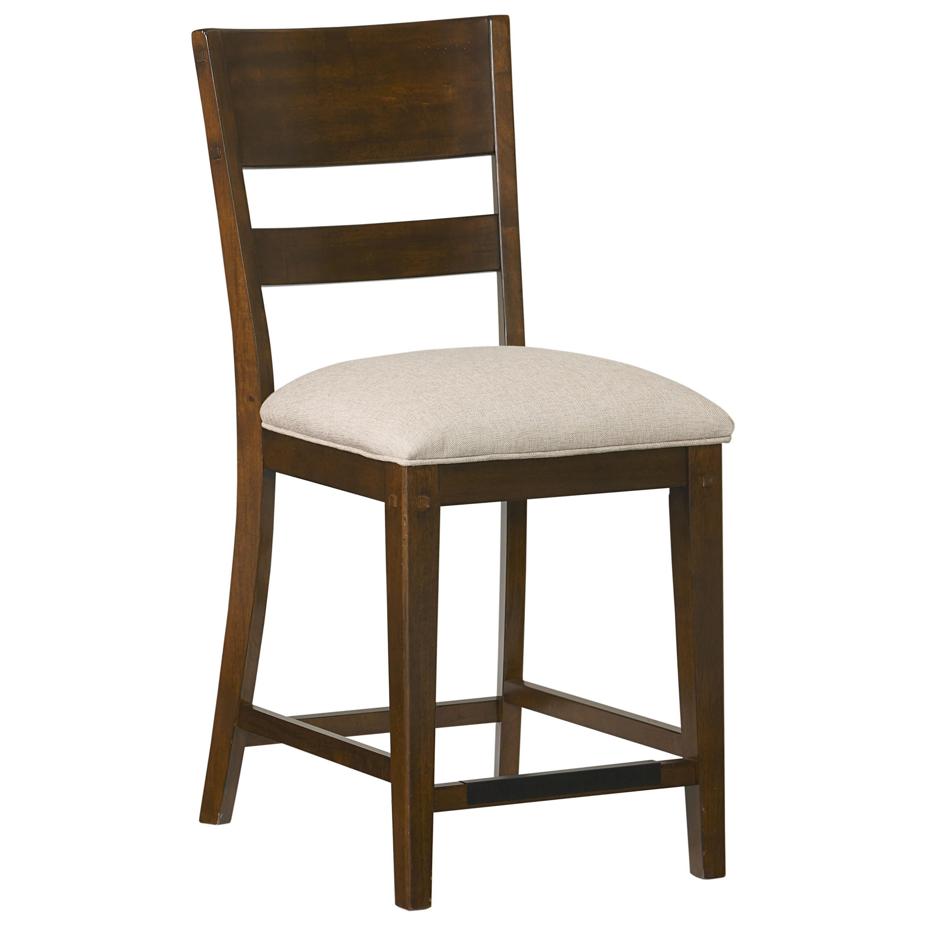 Standard furniture cameron 14314 rustic upholstered counter height stool furniture superstore - Standard counter height stool ...