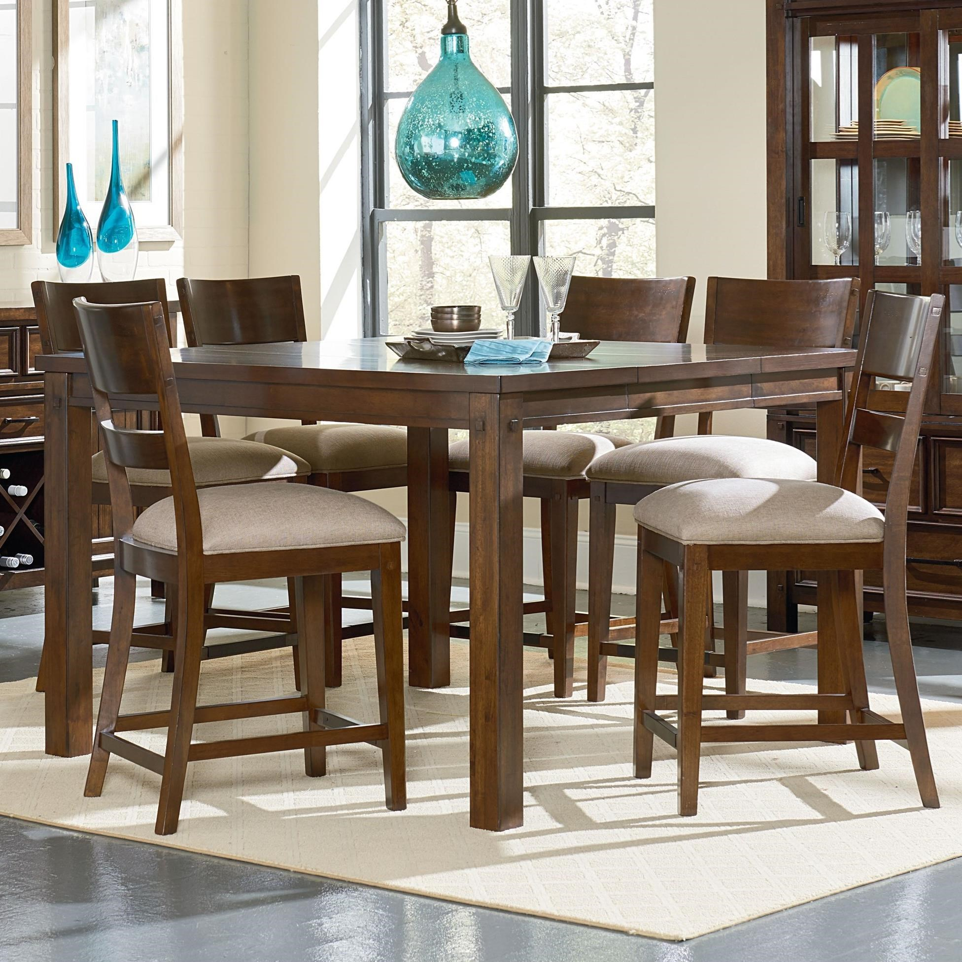 Standard Furniture Cameron Pub Table Set - Item Number: 14316+3x14314