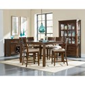 Standard Furniture Cameron Rustic Counter Height Dining Table