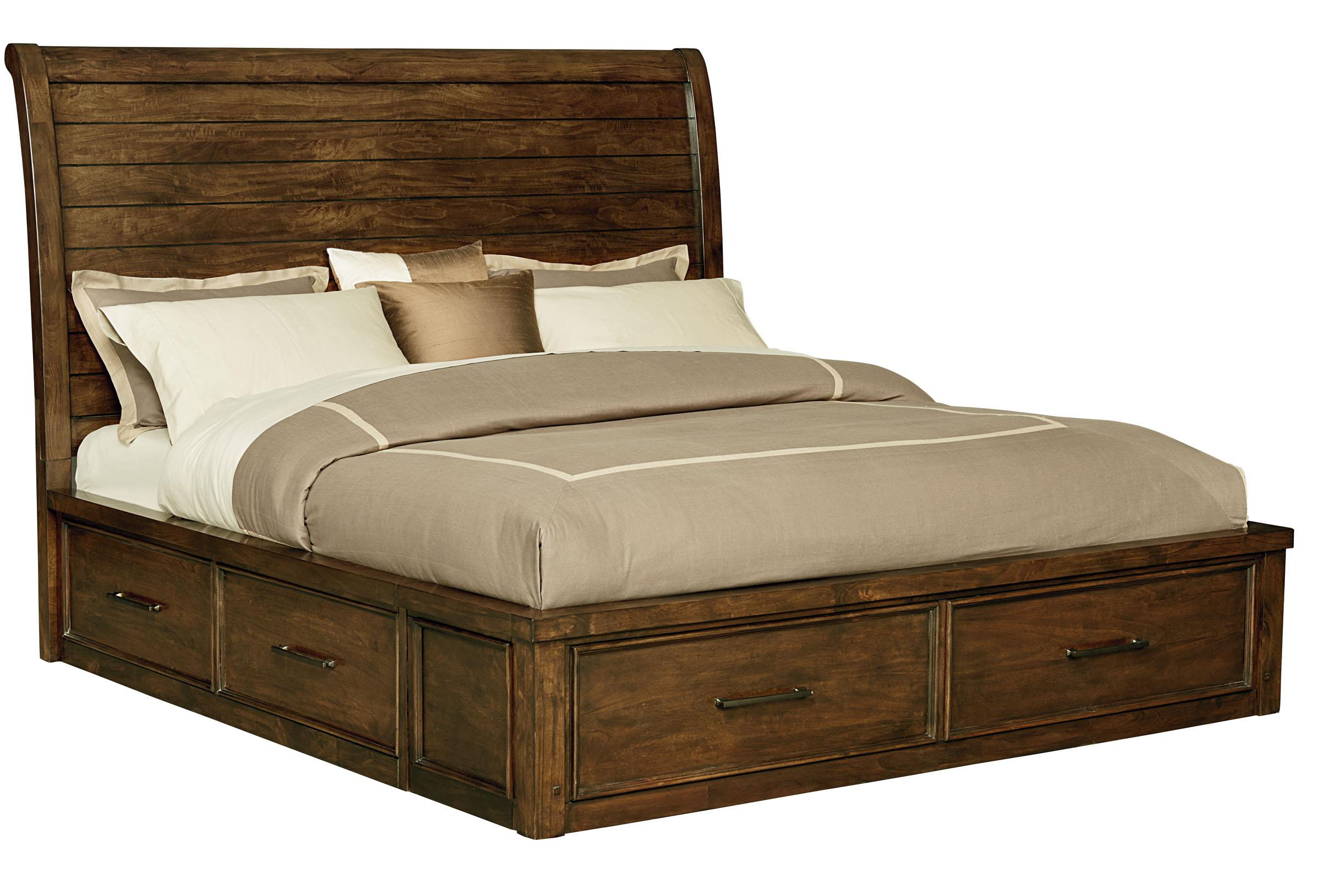 Standard Furniture Cameron Queen Sleigh Bed - Item Number: 85151+52+53
