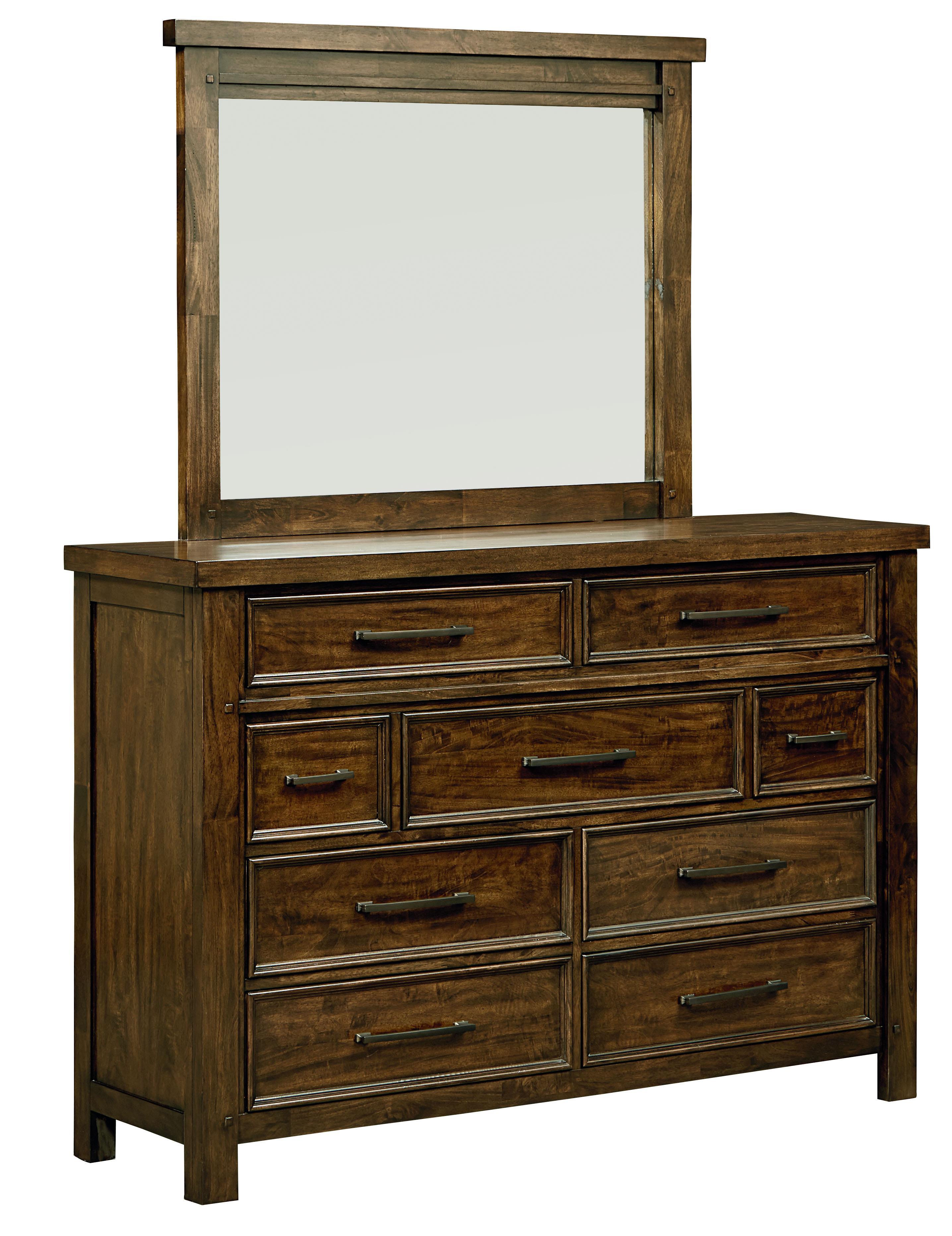 Standard Furniture Cameron Dresser and Mirror Set - Item Number: 85158+9